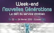 WE Nouvelles Générations 2013 – Prends ta place !