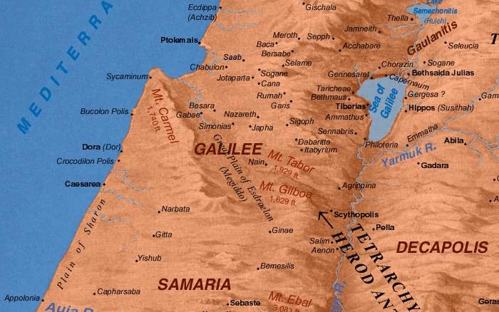 La Galilée au temps de Jésus