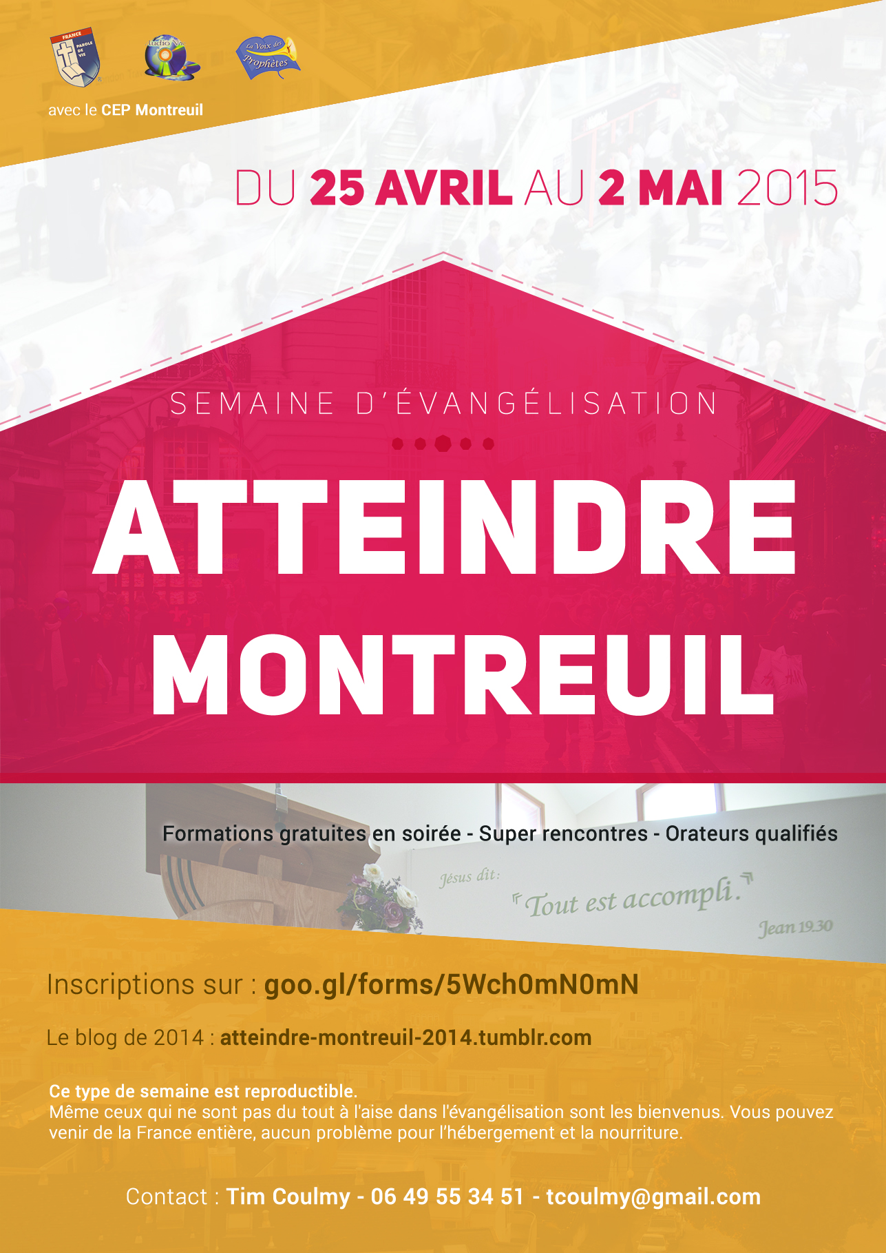 #Atteindre Montreuil