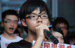 Joshua Wong: 17 ans et leader du «Nuit Debout» de Hong Kong
