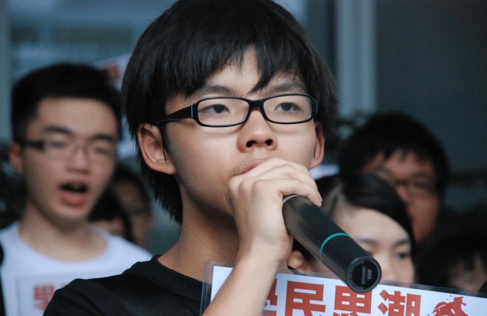 Joshua Wong Nuit Debout
