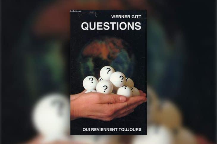 Le livre du mois » Questions » – Werner Gitt
