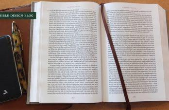 Nouveau projet : une Bible de lecture