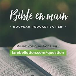 bible en main - question