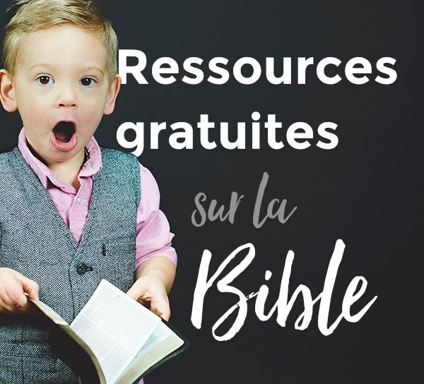 Ressources Bibles gratuites