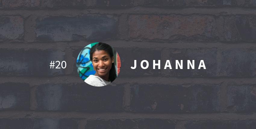 Une vie transformée #20 : Johanna