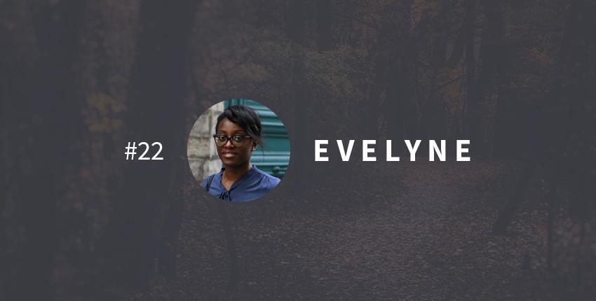 Vie transformée Evelyne