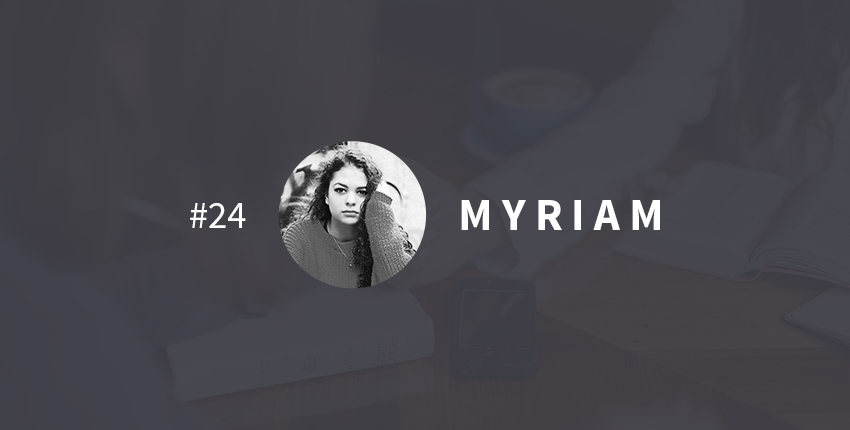 Vie transformée Myriam