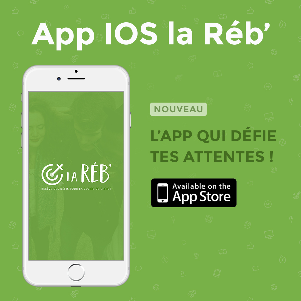Application IOS la Réb'