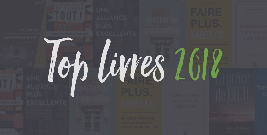 Le top 3 des livres qui ont impacté les éditeurs de la Réb' en 2018