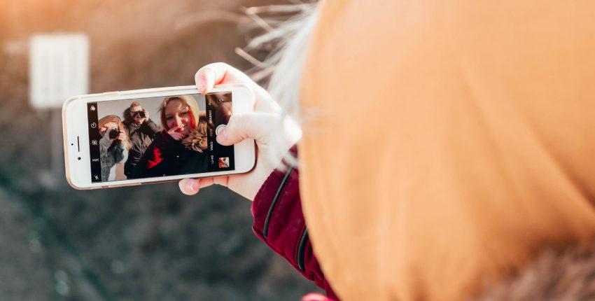 Lieu secret dans un monde de selfies (pour les filles)