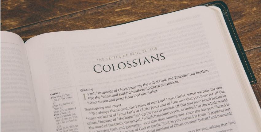 Pourquoi lire Colossiens ? Pour remercier Dieu ! (1/3)