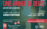 Comment être motivé dès la rentrée ? Viens à Bruxelles le 21 septembre prochain !