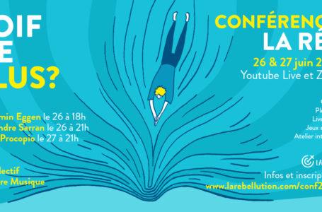 Conférence «Soif de plus?» – récap des interventions boostantes du week-end !