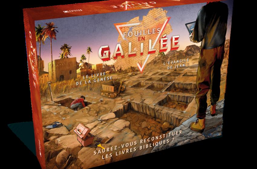 «Fouilles en Galilée»: un jeu de société biblique, amusant et édifiant !