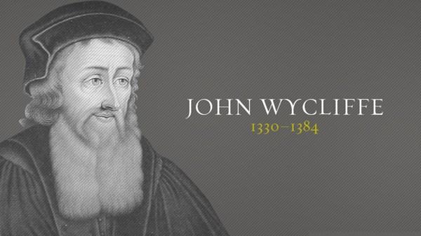 Sur les épaules de géants #7 : John Wyclif